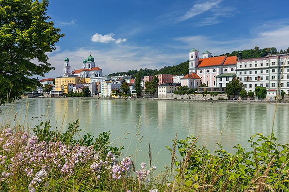 Passau with the Bavarian Forest