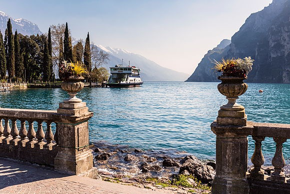 Lake Garda by Frank Lukasseck