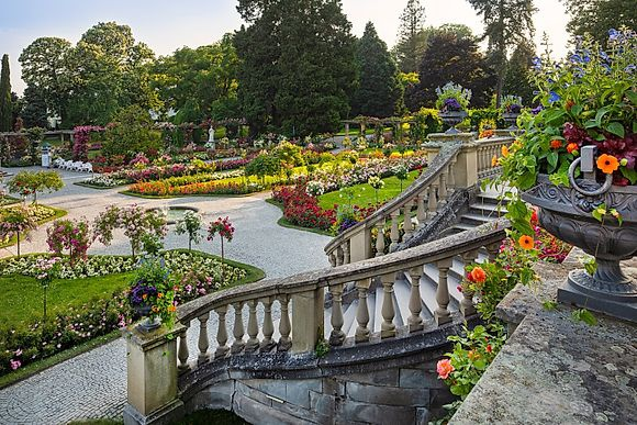 The flower island Mainau by Reinhard Schmid