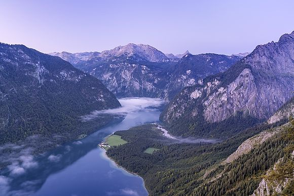 Recreation area Schönau at lake Königssee by Christian Bäck