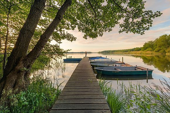 Brandenburg-known for its beautiful nature and numerous lakes