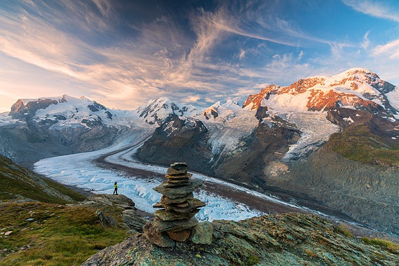 Zermatt in the canton of Valais